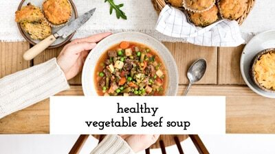 Vegetable Beef Soup Video