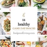 Healthy super bowl food recipe round up