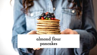 Almond Flour Pancakes How To Video