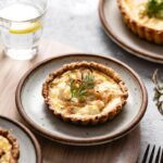 Goat Cheese Quiche with Caramelized Onions Recipe