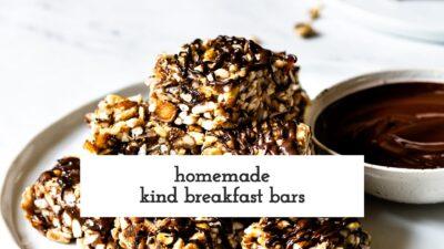 Homemade Kind Bars Video