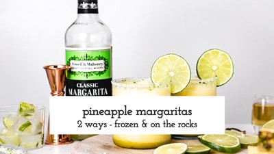 Pineapple Margaritas How to Video