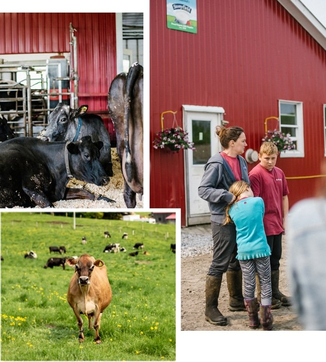 Wonder Why Farm with Stonyfield Organic - A farmer and her 2 kids