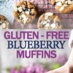 gluten free dairy free blueberry muffins