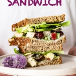 greek yogurt chicken salad sandwich