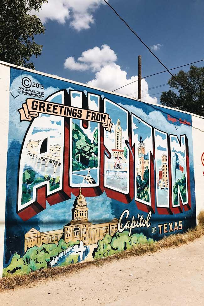 Trip to Austin Texas