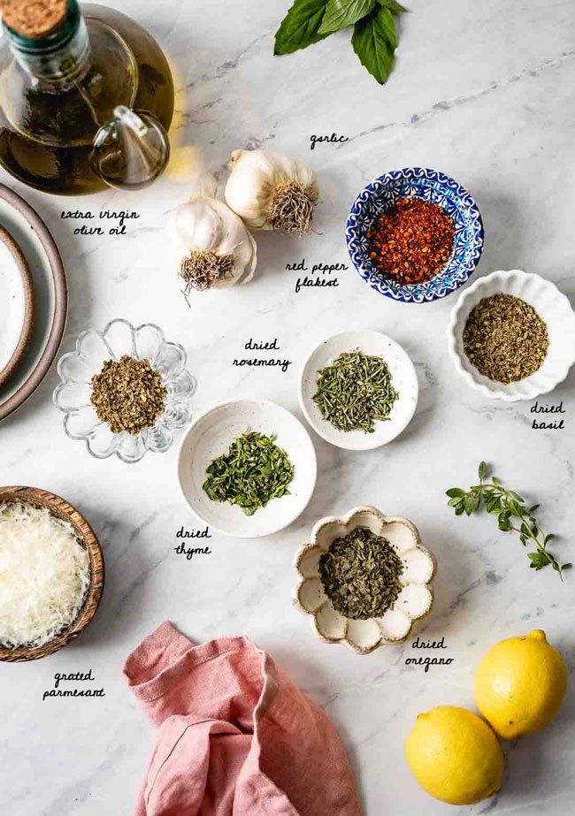 bread dipping spices for Italian olive oil bread dip