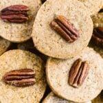 Butter Pecan Shortbread Cookies Image