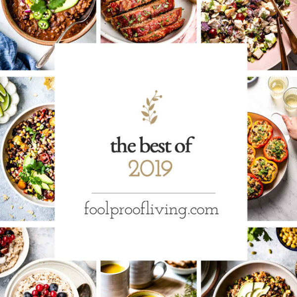 The Best recipes from 2019 from foolproofliving.com