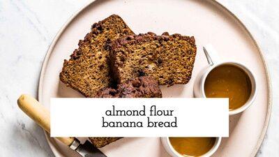 Almond Flour Banana Bread Video