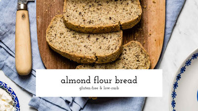 Almond Flour Bread Video