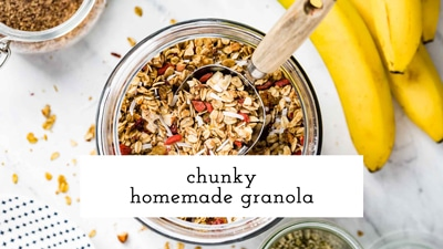 Video image for chunky granola recipe
