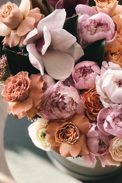 Foolproof Living Life Lately roses and peonies