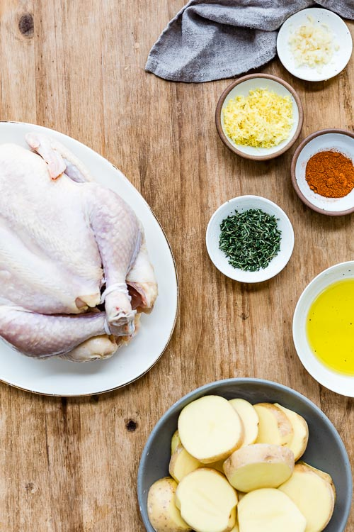 seasoning ingredients for chicken
