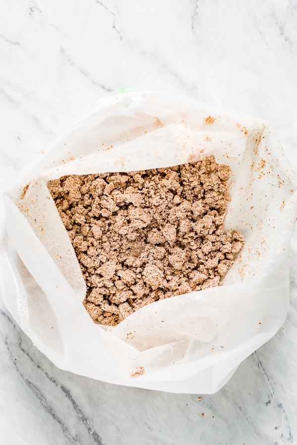 Raw pulp leftover from making milk