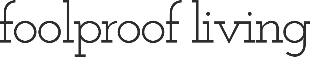 Foolproof living logo - Cooking & Recipe Website By Aysegul Sanford