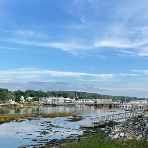 A view of Boothbay Harbor Maine