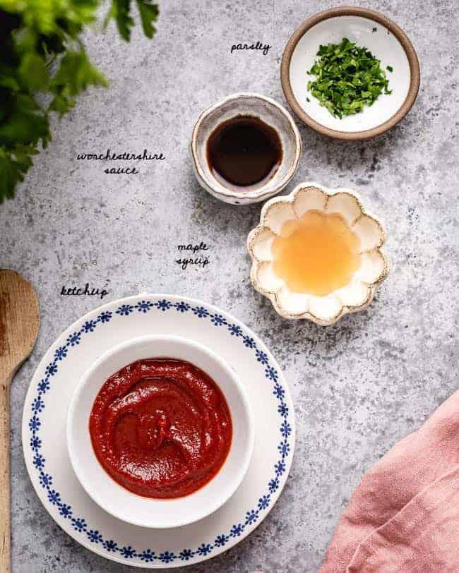 ketchup glaze ingredients