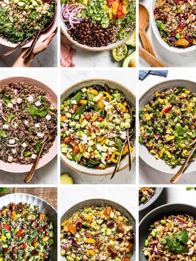 Quinoa Salads Stories