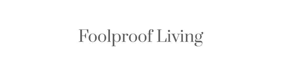 Foolproof Living logo